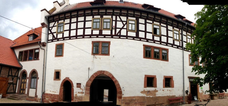 Schloss Gerstungen (Innenhofbereich)