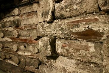 Salt crusted wooden beams http://tinyurl.com/yb9aer3t