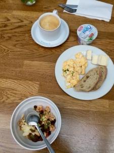 breakfast at the Arthotel Stalowa 52