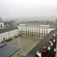 Palace and headquarter of the President of Poland