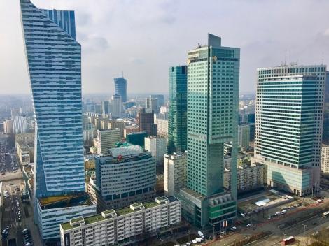 Warschau – Umgebung des Hauptbahnhofs