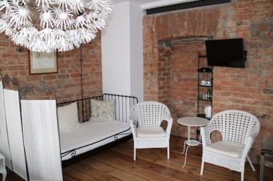 Light Box sitting area