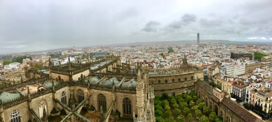 View of Seville from the Giralda
