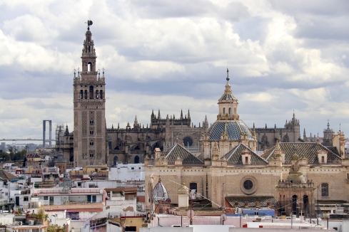 Seville Cathedral with Giralda