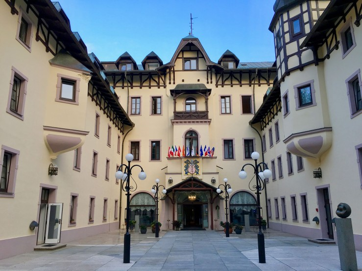 Hotel Chateau Monty in Marienbad