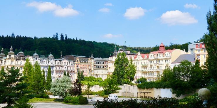 Marienbad verzückt mit Jugendstilbauten
