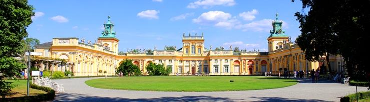 Barockes Schloss Wilanów