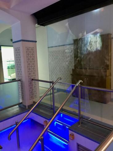 Kohlendioxyd-Badbereich im Lázeňský Hotel Centrální Lázně