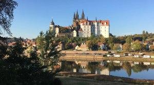 Kurz vor meiner Weiterreise nach Dresden und Stolpen ein letzter Blick auf die Albrechtsburg