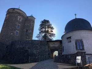Eingang zum Burggelände der Burg Stolpen