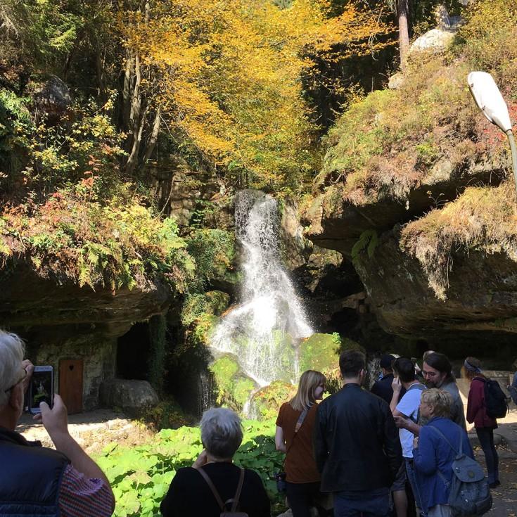 Der Lichtenhainer Wasserfall
