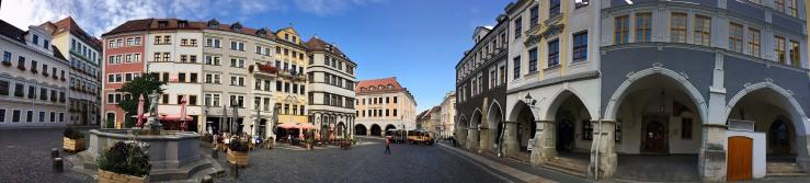 Blick auf die Altstadt von Görlitz
