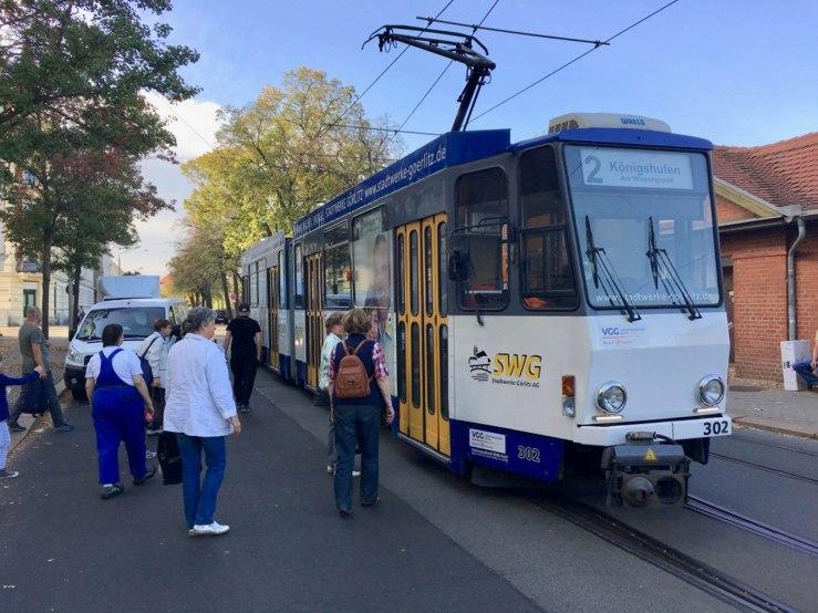 Der ÖPNV ist in Görlitz erschwinglich günstig: Tageskarte 3,50 €