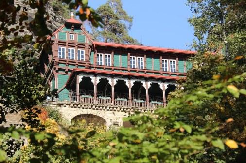 Hotel Falkennest am Prebischtor