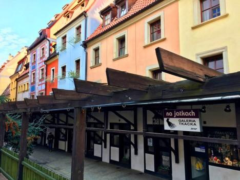 Die heutige Straße der Galerien war früher die Fleischbank Breslaus