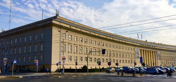 Verwaltungsgebäude des Bezirks Niederschlesien