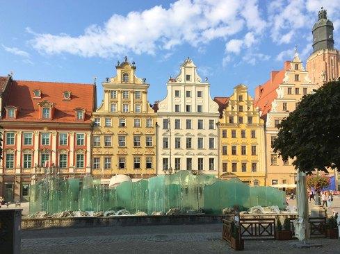 Fontanna Zdrój an der Westseite des Rynek