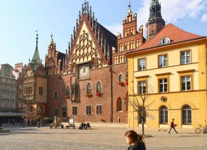 Altes Rathaus: heute Muzeum Sztuki Mieszczańskej - Stary Ratusz