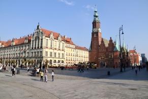 Neues und Altes Rathaus, das heute als Muzeum Sztuki Mieszczańskej genutzt wird