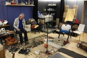 Der Beruf des Geräuschemachers (Foley) ist leider nicht mehr beim DeutschlandRadio vertreten (Bild: Foley im MMZ Halle)