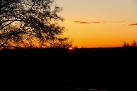 Sonnenaufgang in Dzwirzyno