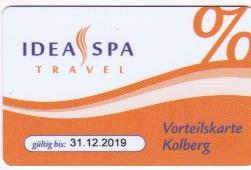 Vorteilskarte © Idea Spa Travel